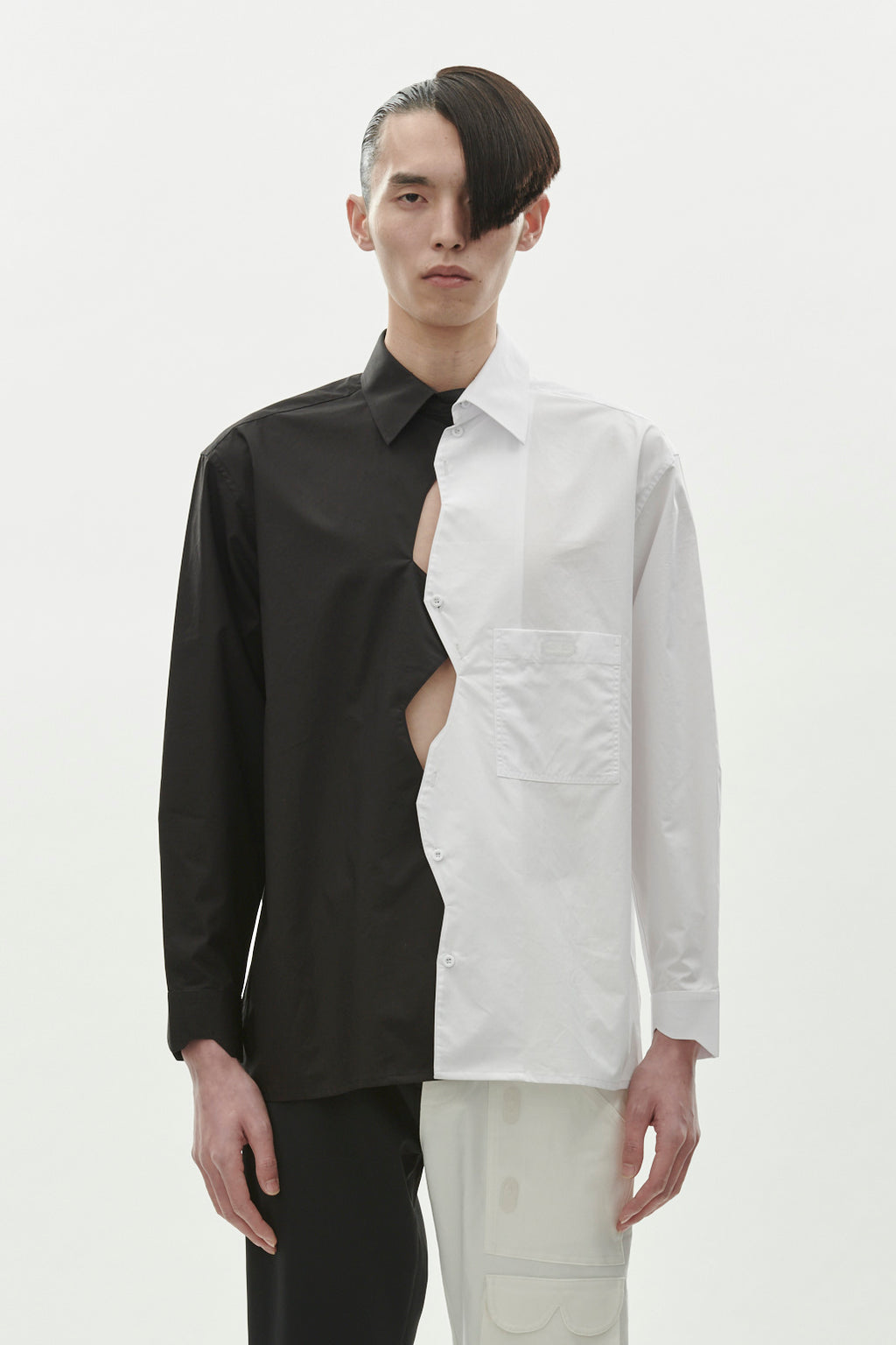 Zig Zag Shirt - Black/White