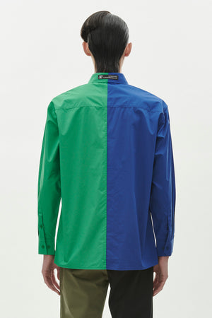Zig Zag Shirt - Blue/Green