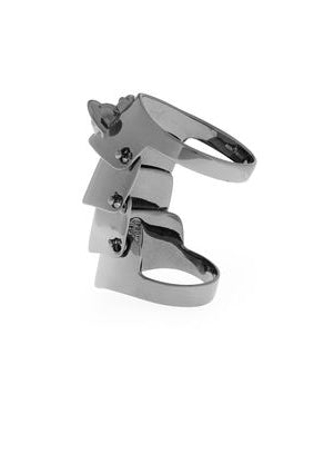 Armour - Gunmetal Ring