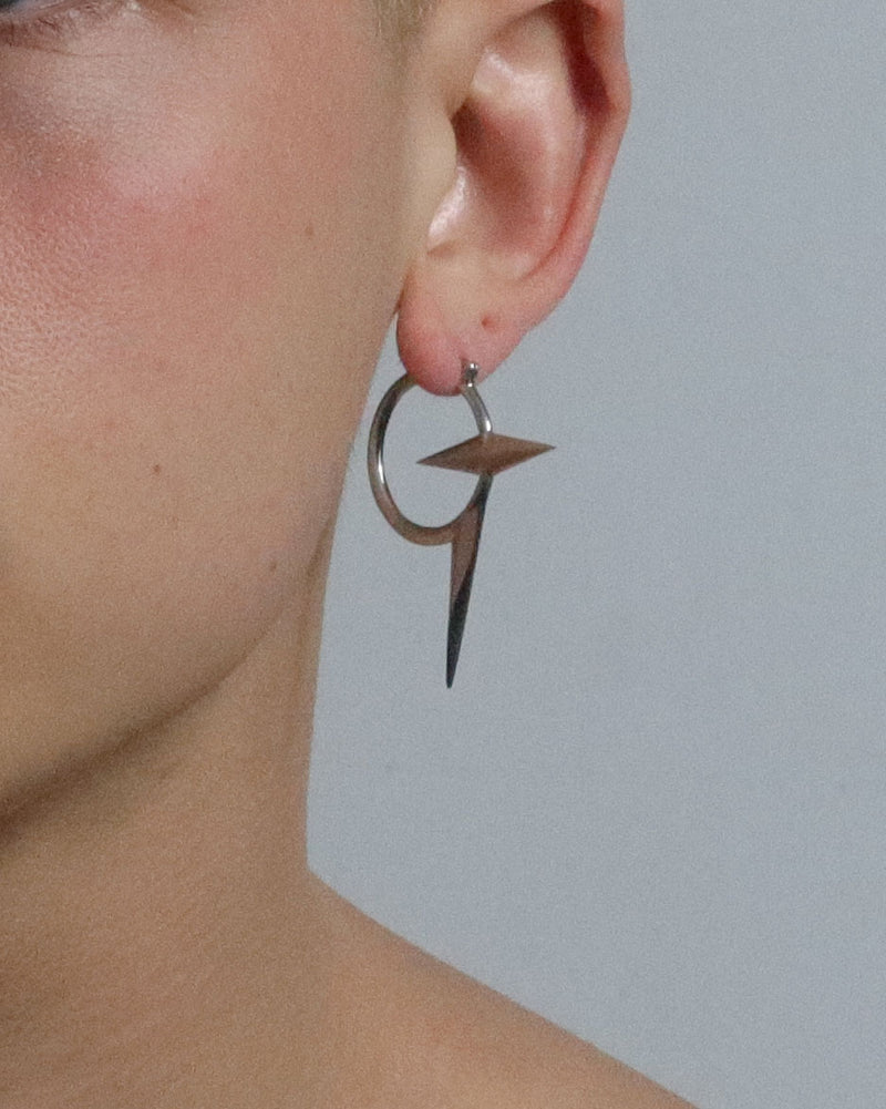 Baby Snitch Earring - Silver