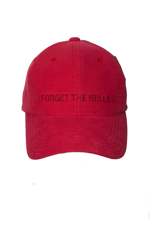 FORGET THE RULES Cap - Red