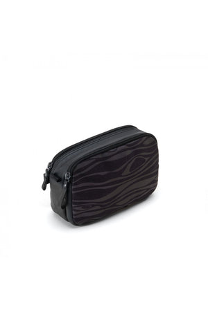 Reflective Rainbow Wood Hip Bag