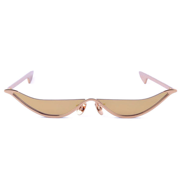 The Slant Sunglasses - Gold