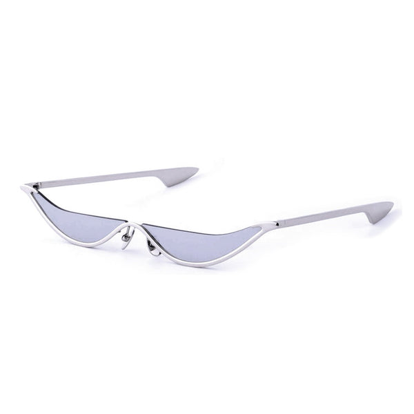 The Slant Sunglasses - Silver