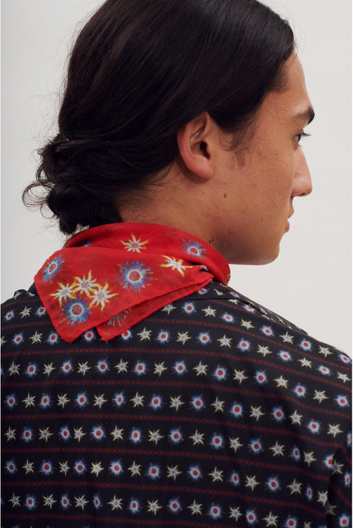 Alpine Foulard - Red