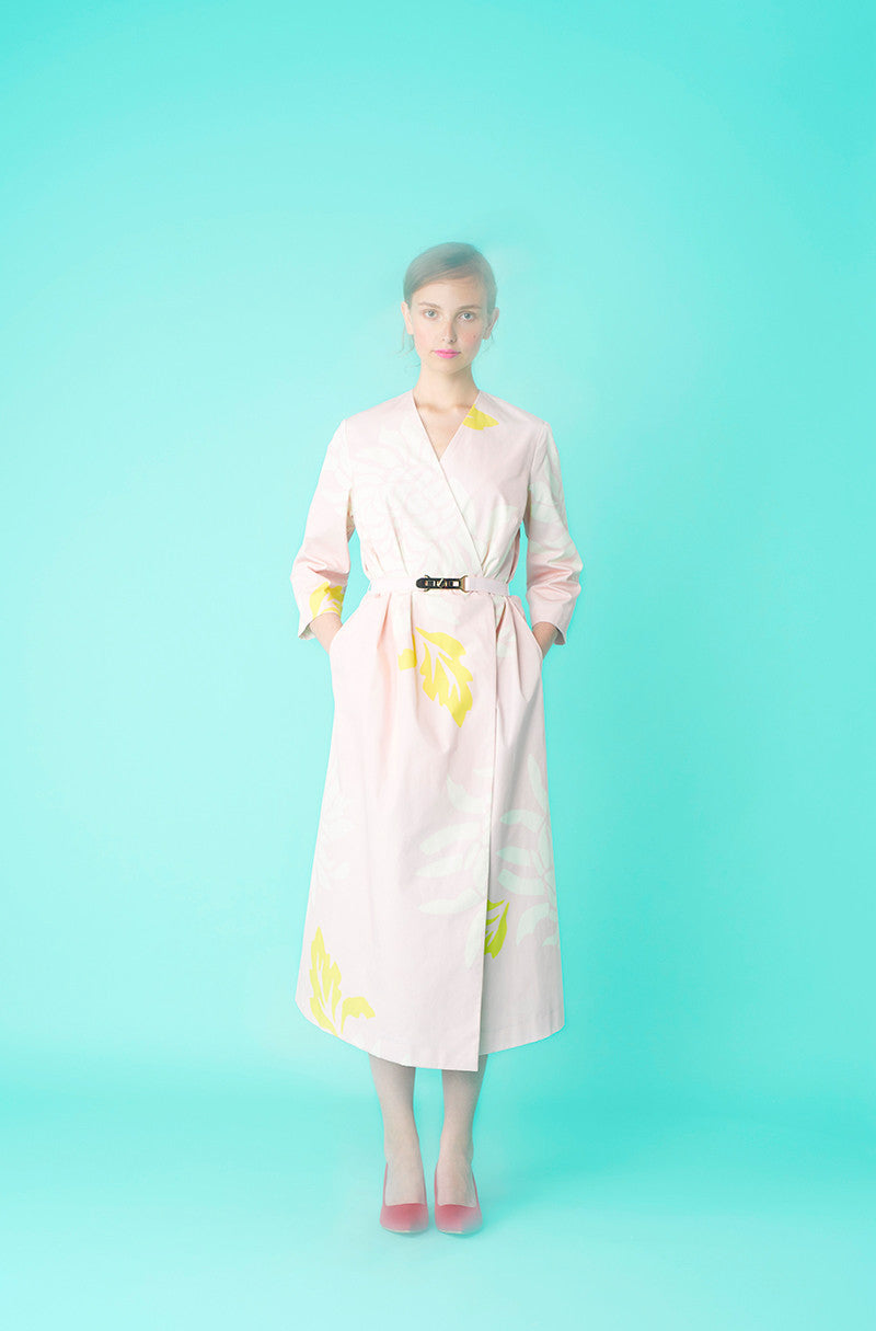 LFS COTTON SMOCK DRESS