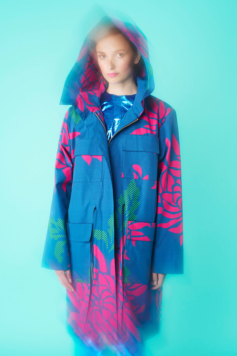 LFS PRINTED COTTON PARKA