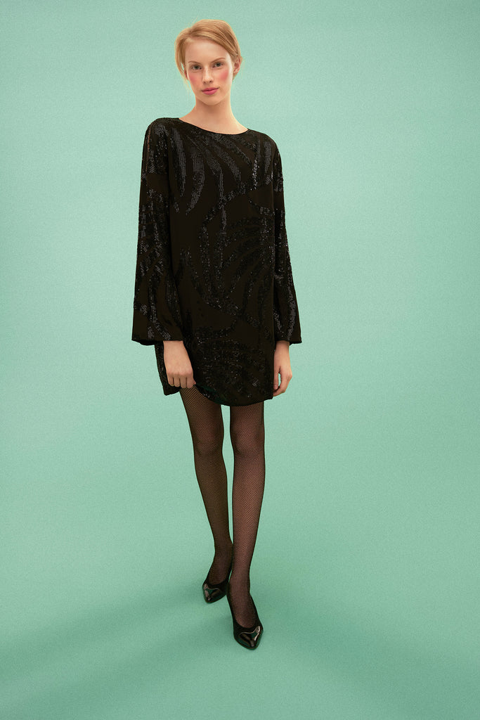 Waterlily Sequin Dress