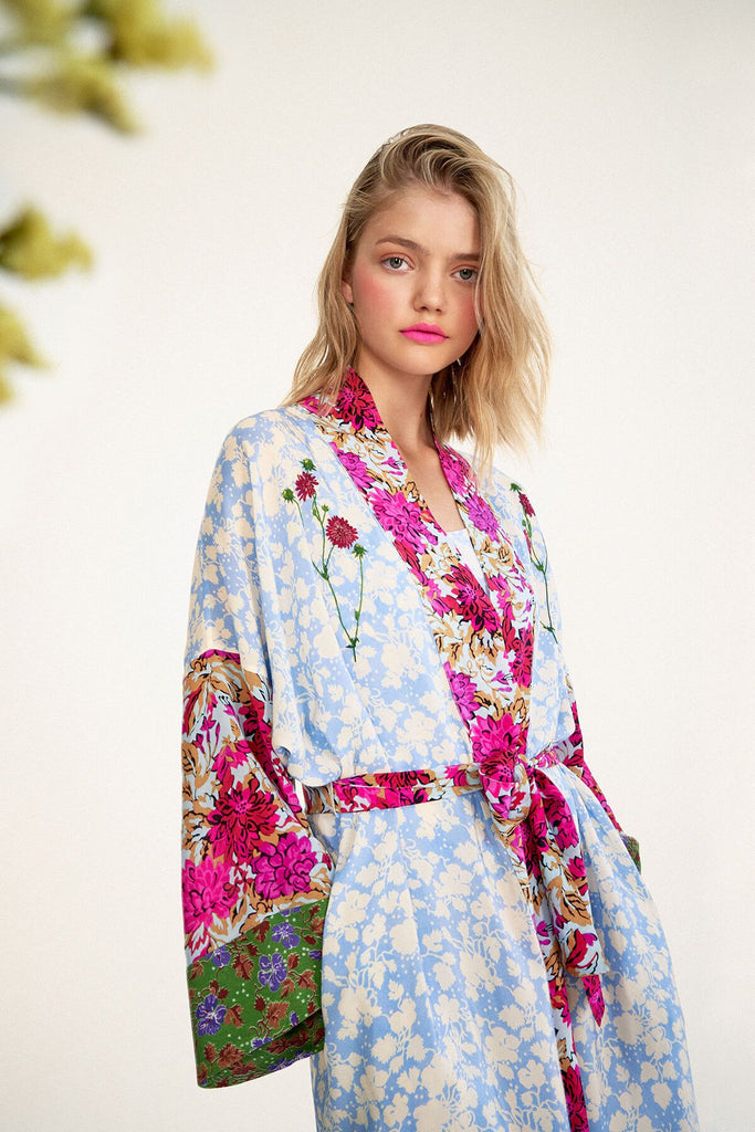 Longing-For-Sleep-by-Marit-Ilison-2020-Collection-1-Embroidered-Silk-Kimono-In-Floral-Close-Up