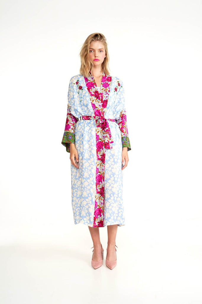 Longing-For-Sleep-by-Marit-Ilison-2020-Collection-1-Embroidered-Silk-Kimono-In-Floral-Front