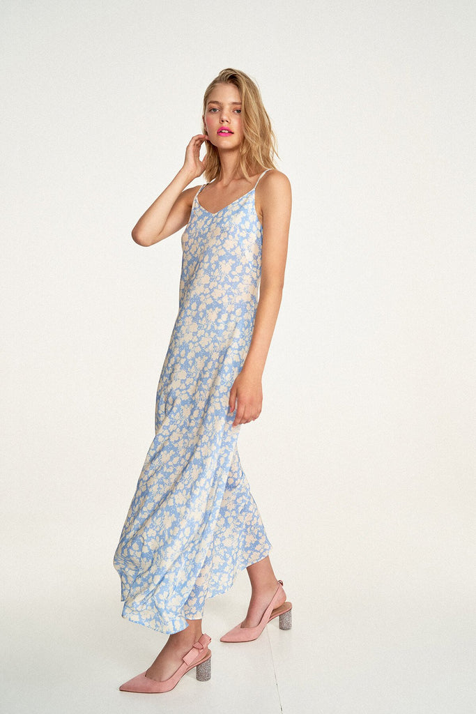 Longing-For-Sleep-by-Marit-Ilison-2020-Collection-1-Long-Pearl-Slip-Dress-In-Cranesbill-Blue