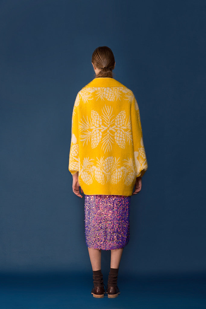 Longing For Sleep Yellow Cape #18 Back