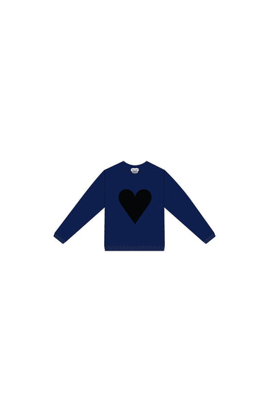 Black Heart Kids Logo Sweatshirt