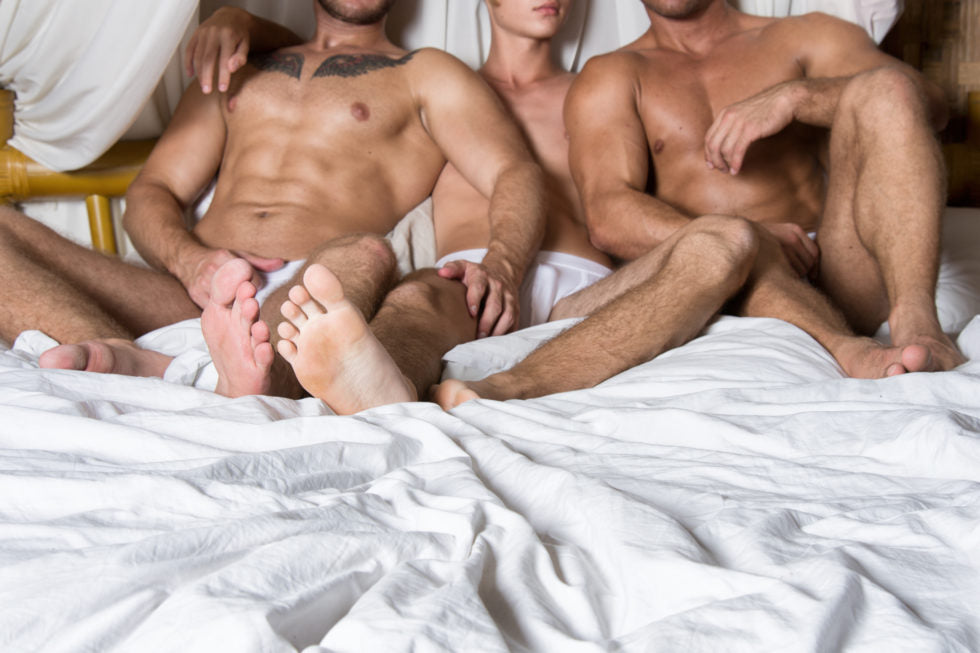 """Graham from Houston writes, """"So my boyfriend has been hinting about how we want a threesome lately. We have been together for about a year now. Part of me is into it but I have never had an open relationship before and I am nervous to mess things up. Any suggestions?"""""""