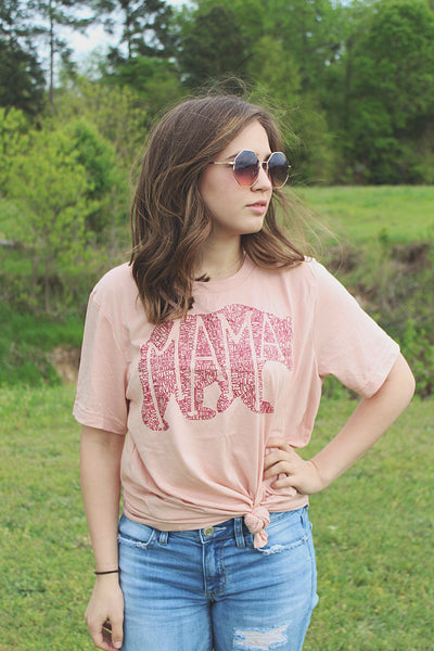 What's In A Mama Blushed tee
