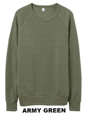CUSTOM ECO CREW NECK SWEATSHIRT