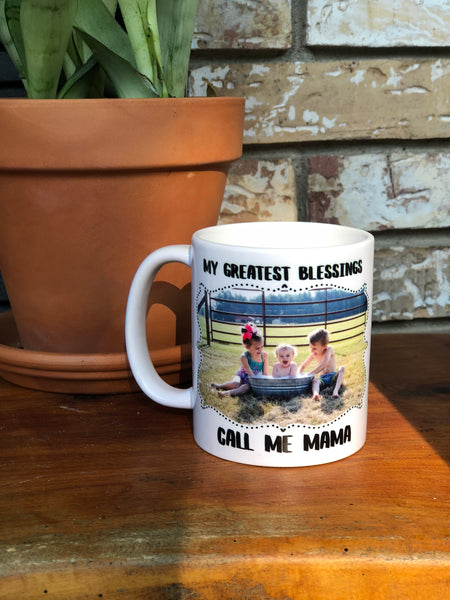 Custom Photo 11 oz mug