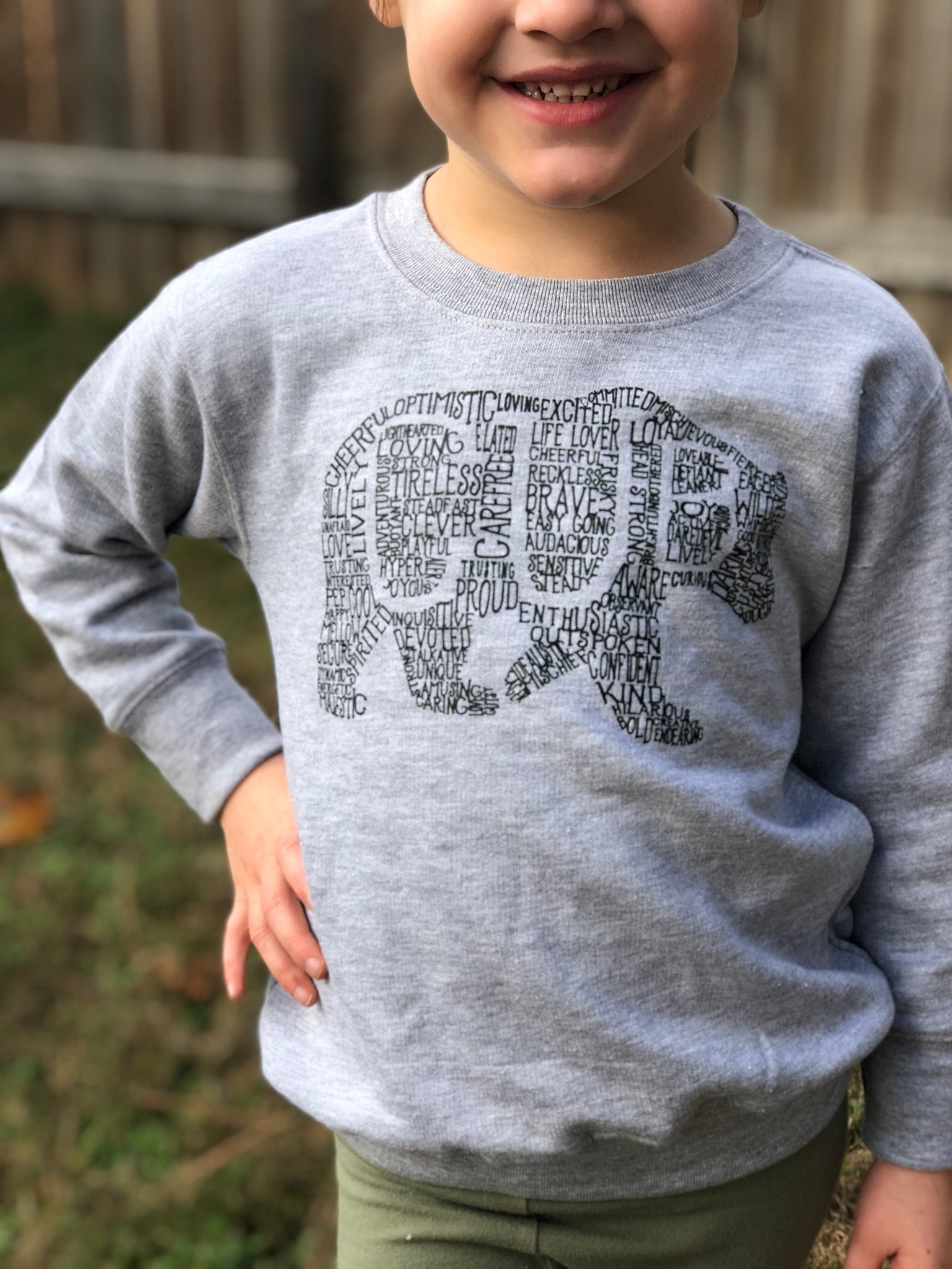 What's In A... - KIDS CUSTOMIZABLE DESIGN - Fleece Sweatshirt