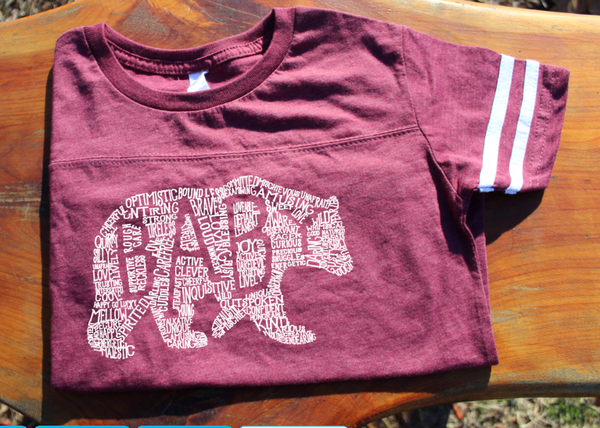 What's In A Baby - Burgundy Jersey (Toddler)