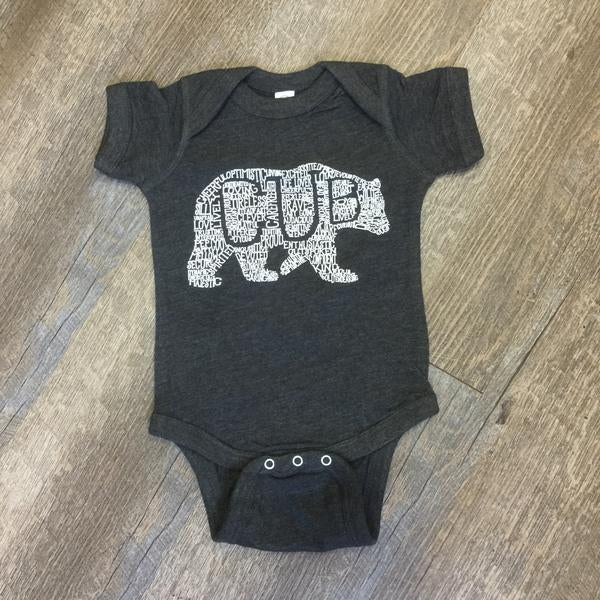What's In A... - KIDS CUSTOMIZABLE DESIGN - ECO CHARCOAL (Infant)