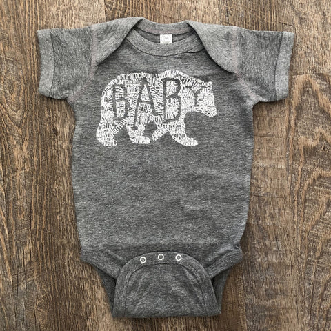 What's In A... - KIDS CUSTOMIZABLE DESIGN - Athletic Grey (Infant)