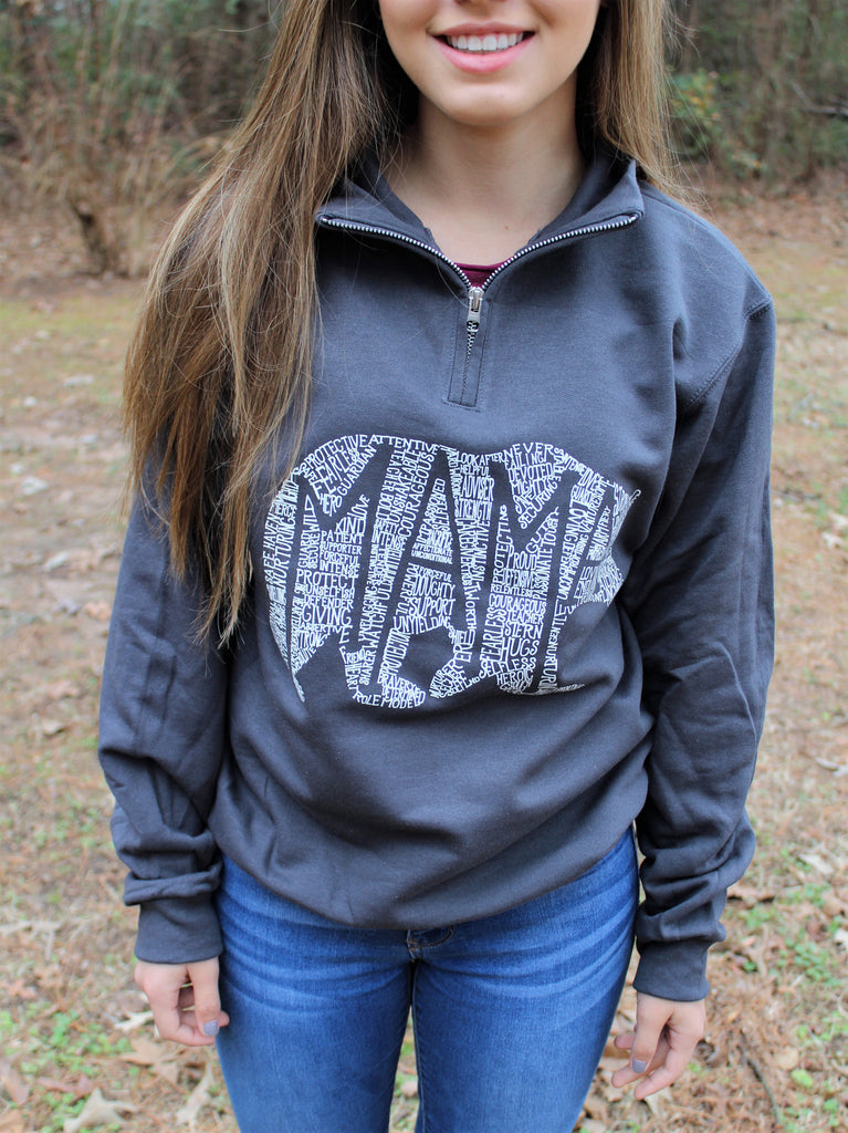 What's In A Mama (Charcoal) Pullover