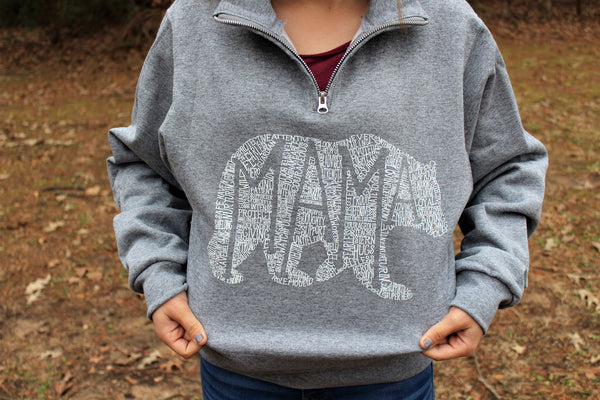 What's In A Mama (Oxford) Pullover