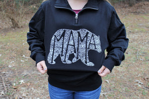 What's In A Mama (Black) Pullover