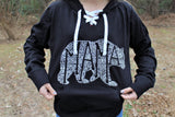 What's In A Mama Hoodie - BLACK