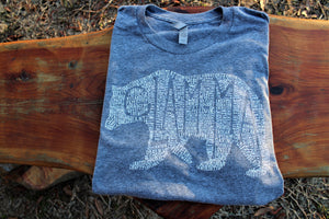 What's In A Glam-Ma Athletic Grey Crew Neck