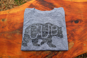 What's In A Cub - Athletic Grey Short Sleeve