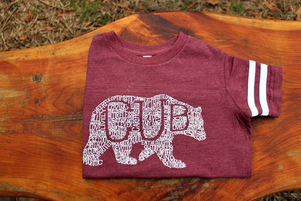 What's In A Cub - Burgundy Jersey (Toddler)