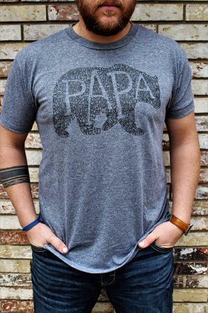 What's In A Papa Athletic Grey Crew Neck