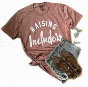 Raising Includers Dusty Pink
