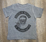 Makers or Mayhem - Boys - Athletic Grey