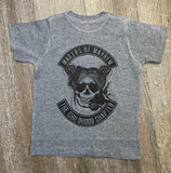 Makers or Mayhem - Girls - Athletic Grey