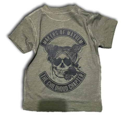 Makers or Mayhem - Girls - Military green
