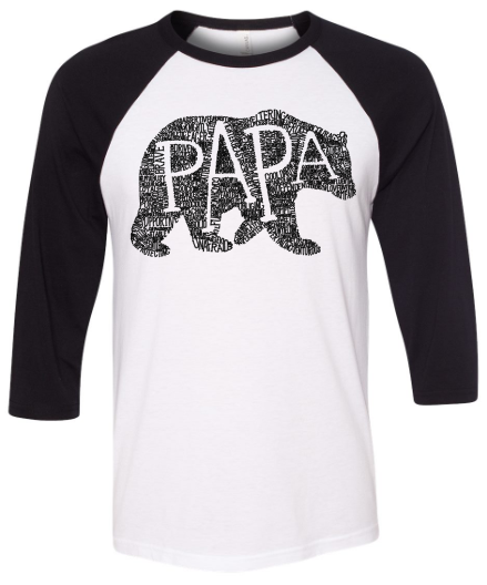 WHAT'S IN A PAPA RAGLAN tee