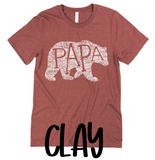 CUSTOM WHAT'S IN A PAPA - SHORT SLEEVE TEE