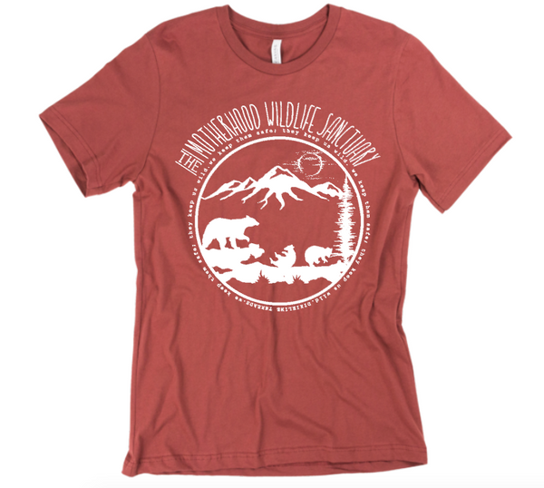 CUSTOM Motherhood WILDLIFE SANCTUARY - SHORT SLEEVE