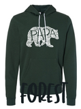 CUSTOM - WHAT'S IN A PAPA - Sponge hoodie