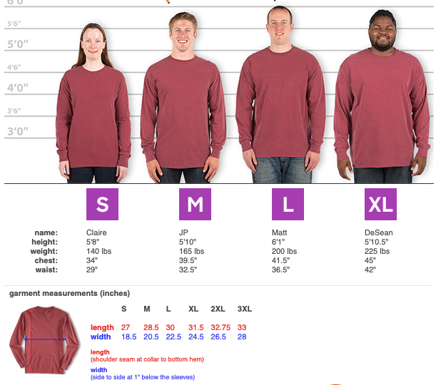 Raising Includers Pigment Dyed Long Sleeve