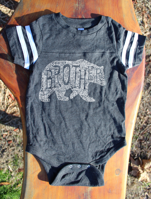 What's In A Brother - Smoke Jersey (Infant)