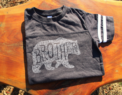 What's In A Brother - Smoke Jersey (Toddler)