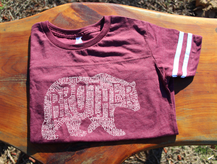 What's In A Brother - Burgundy Jersey (Toddler)