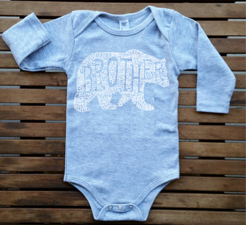 What's In A Brother - Long Sleeve Onesie