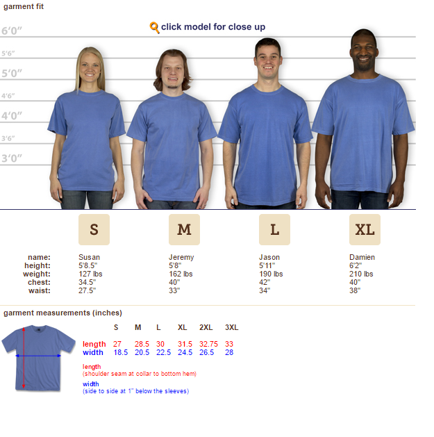 DLT Comfort Colors Short Sleeve - Periwinkle