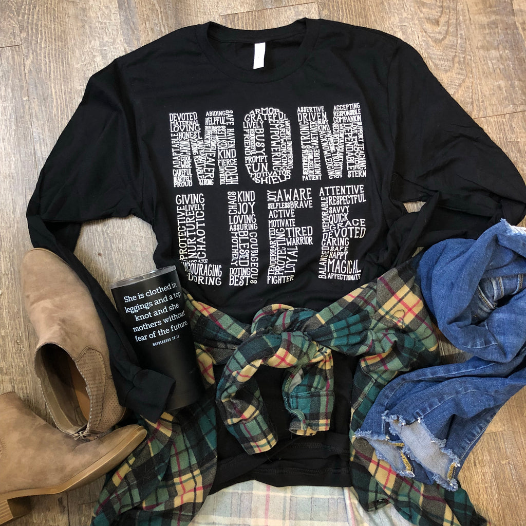 MOM LIFE LONG SLEEVES
