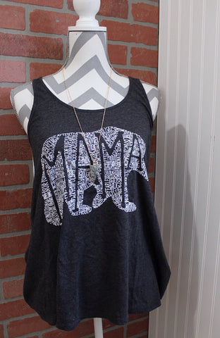 What's In A Mama flowy tank