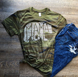 Camo What's In A Mama eco blend tee